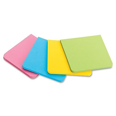 3M Super Sticky Full Adhesive Notes, 3