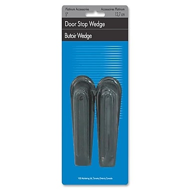 VLB Marketing Wedge Door Stops, No-Slip, 5