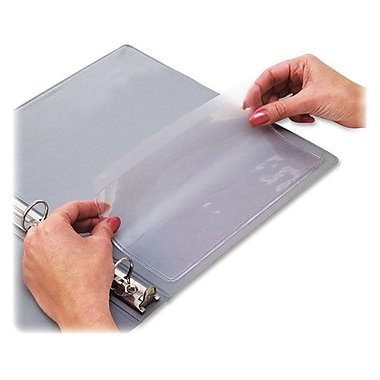 C-Line Add-On Filing Pockets, Self-Adhesive, 8-3/4