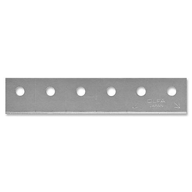Olfa CTB-5 Replacement Blades, 5/Pack, Silver