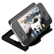 "Deflect-O Smartphone Stand, Hands-Free, 4"" x 2-3/4"" x 2-3/4"", Black"