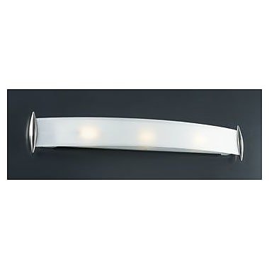 PLC Lighting Scroll 3-Light Bath Bar