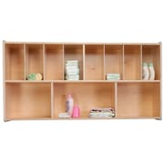 Wood Designs 12 Compartment Shelving Unit
