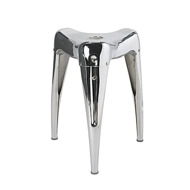 Dulton – Tabourets empilables 100-115, chrome