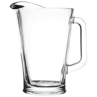Libbey Beer Pitcher, 60 oz, 6/Pack