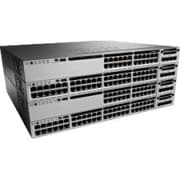 Cisco™ Catalyst 3850-48U 48 Port Gigabit Ethernet Rack Mountable Manageable Switch, Black