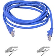 Belkin Cat6 Snagless Patch Cable, 5 Feet Blue