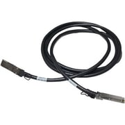 HP ® X240 JG327A 3 m QSFP+ Male/Male Direct Attach Copper Cable, Black
