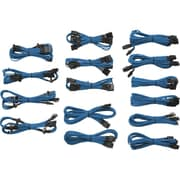 Corsair® Type-3 Generation-2 Professional Individually Sleeved DC Cable Kit, Blue (CP-8920046)