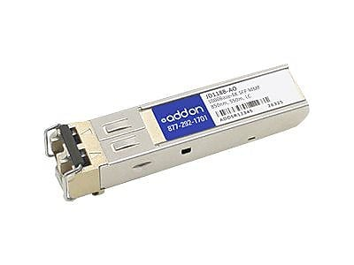 AddOn® JD118B-AO 1 Port 1000Base-SX SFP (Mini-GBIC) Transceiver Module For HP Networking Routers