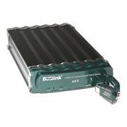 Buslink® CipherShield 4TB SATA External Hard Drive (Black/Green)