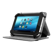 "Aluratek Universal Folio AUTC07FB Protective Travel Cover for 7"" Tablets, Black"
