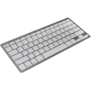 Premiertek (BK-01S) Bluetooth 3.0 Wireless Slim Keyboard, Silver