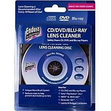 Endust CD/DVD Lens Cleaner for CD/DVD/Blu-Ray/Game Console, 6/Pack (262000P6) IM1YP4953