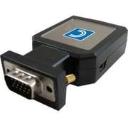 Comprehensive® VGA2HD02 VGA to HDMI and Audio Scaler Converter Adapter, Black