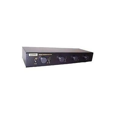 Sima Multi Zone Speaker Selector with Volume Controls, 4 Pairs, 100 W (SSW-L4EX)