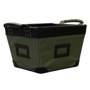 Casual Home Small Storage Basket; Olive
