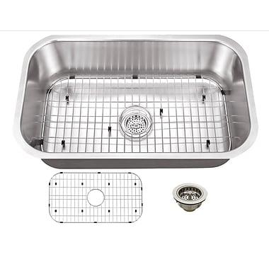 Soleil 30'' x 18'' Single Bowl Kitchen Sink