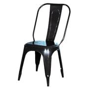 Fashion N You Side Chair; Black