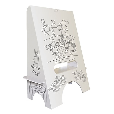 FunDeco Marker Tray Board Easel