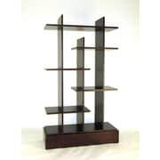 Wayborn Modern Skyline 65'' Accent Shelves Bookcase
