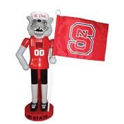 Santa's Workshop NACC NC State Mascot Flag Nutcracker