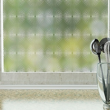 Odhams Press Radiant Privacy Window Film; 84'' H x 48'' W