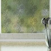 Odhams Press Crazy Paisley Privacy Window Film; 84'' H x 48'' W