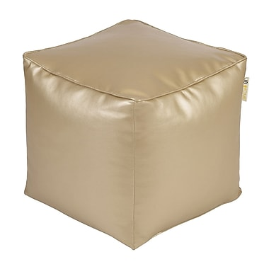 JB Home Glam Pouf; Gold