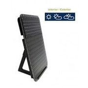 Solar-Infra Systems The Sun 800 BTU Wall Mounted Solar Forced Air Panel Heater