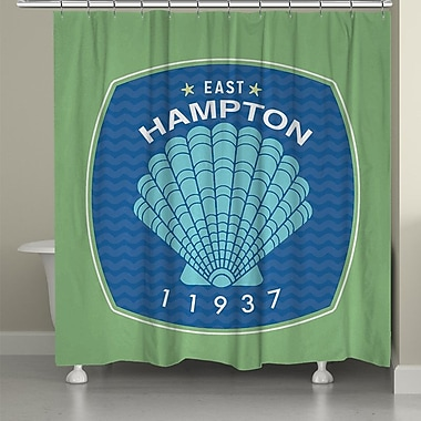 LauralHome East Hampton Shower Curtain