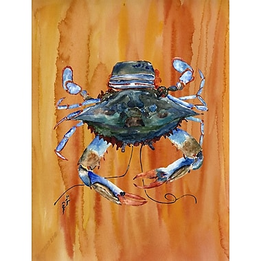 Caroline's Treasures Crab House Vertical Flag