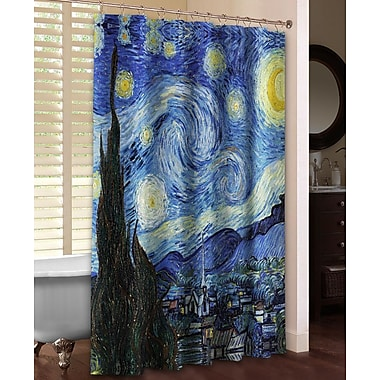 LauralHome Vincent Van Gogh's Starry Night Shower Curtain