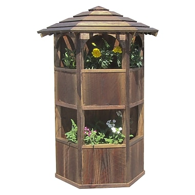 SamsGazebos Wood Wall Planter