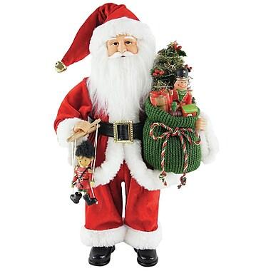 Santa's Workshop Bag Full of Toys Santa