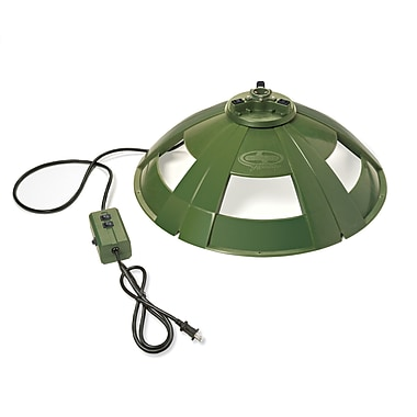Snow Joe Holiday Rotating Tree Stand for Artificial Trees, Green (H092)