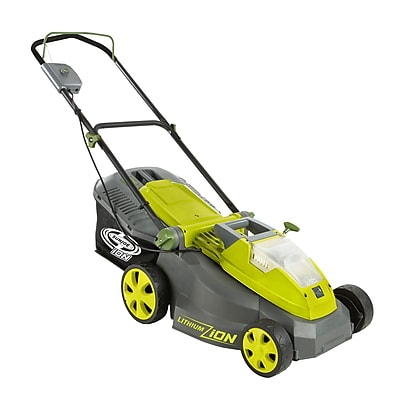 Sun Joe iON Cordless Lawn Mower w/ Brushless Motor, 16-Inch, 40-Volt, Battery + charger not included (iON16LM-CT)
