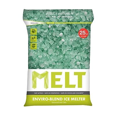 Snow Joe MELT Premium Enviro-Blend Ice Melter w/ CMA, 25 Lb. Bag (MELT25EB)