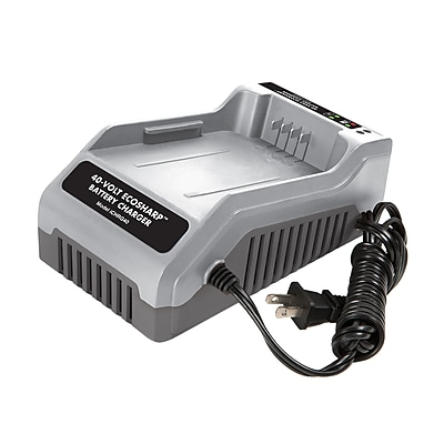 Snow Joe iON EcoSharp Lithium-Ion Charger for use with all Snow Joe and Sun Joe iON Products (iCHRG40)