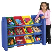 ECR4Kids® 3-Tier Storage Organizer with Bins
