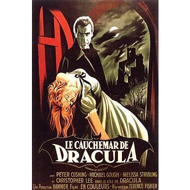 Affiche Dracula, 24 x 36 po