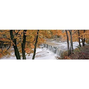 Affiche Anderson Falls, 11 3/4 x 36 po