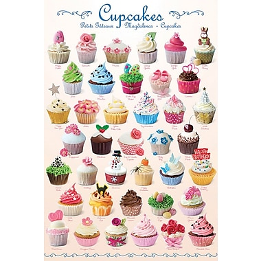 Cupcakes Poster, 24