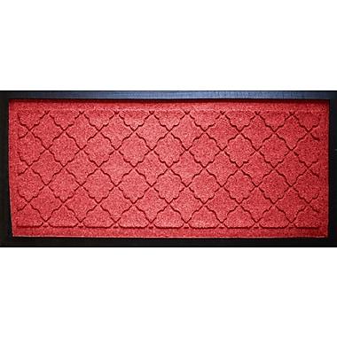 Bungalow Flooring Aqua Shield Cordova Boot Tray; Solid Red