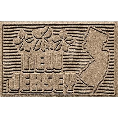 Bungalow Flooring Aqua Shield New Jersey Doormat; Camel