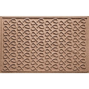 Bungalow Flooring Aqua Shield Cunningham Doormat; Medium Brown