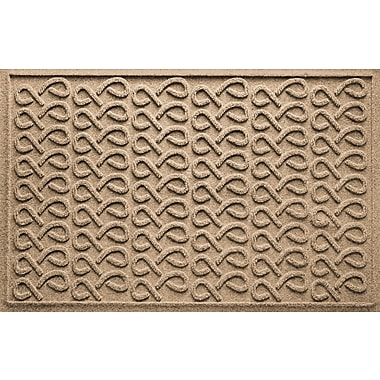 Bungalow Flooring Aqua Shield Cunningham Doormat; Camel