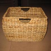 Pangaea Pangaea Rattan Natural File Basket w/ Liner