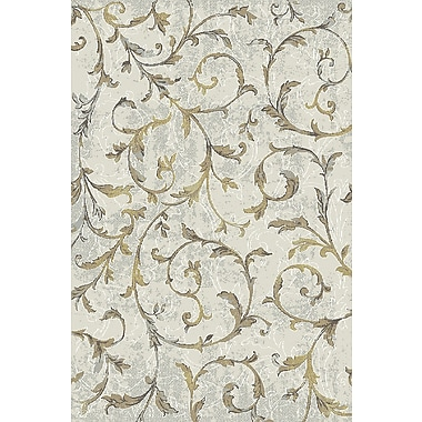 Dynamic Rugs Royal Treasure Cream/Yellow Area Rug; 7'10'' x 10'10''