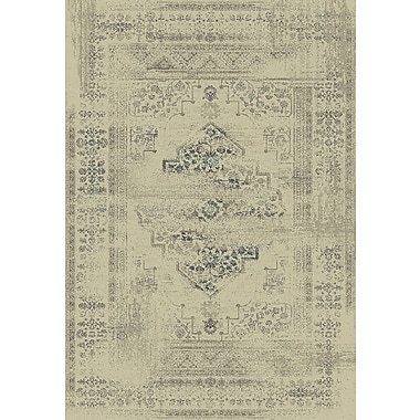 Dynamic Rugs Utopia Cream Area Rug; 2' x 3'5''